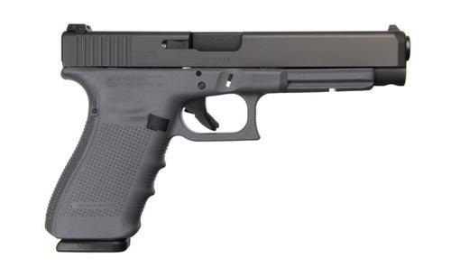 "Glock 41 Gen4, 45 ACP, 5.31"",, , Gray Frame,  13 rd"