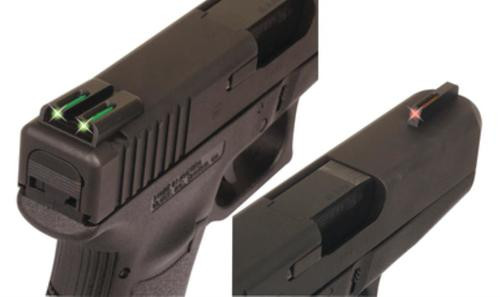Truglo Fiber Optic Set Glock Low
