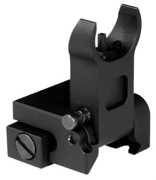 Aim Sports AR Low Profile Flip Up Front Sights AR-15 Black