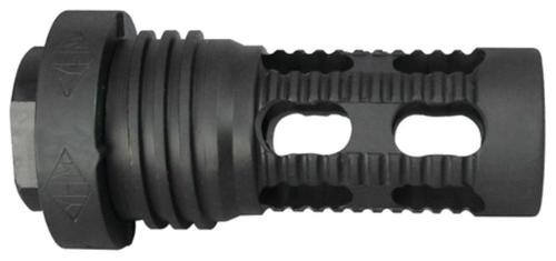 Yankee Hill Machine Co, 5.56 Q.D. Muzzle Brake for Turbo and Turbo K, Black, 1/2X28