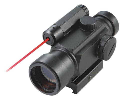 Bear Ammunition Illuminated Dot Site 4x30mm Green/Red Laser Illuminated 5 MOA Dot Reticle Matte Black
