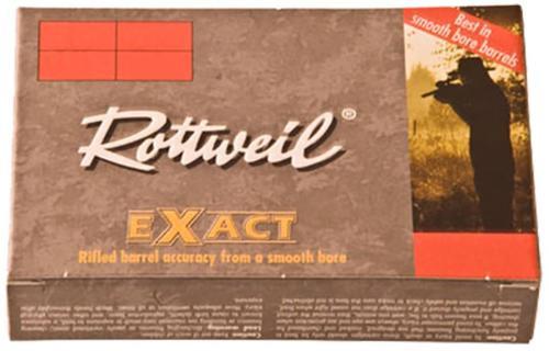 "Ruag Ammotec 247140005 Rottweil Exact 20ga 2.75"" .94 oz Slug Shot 5/Box"