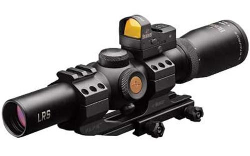 Burris MTAC 1-4x24mm Illum 5.56 CQ Reticle With Fast Fire and PEPR Mount