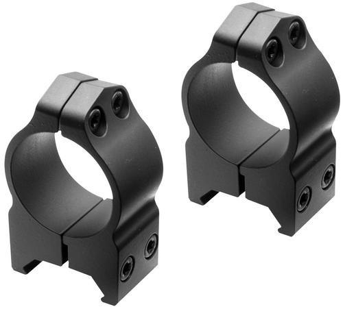 """Nikon S-Series Ring Set 1"""" Dia Medium Black Matte"""