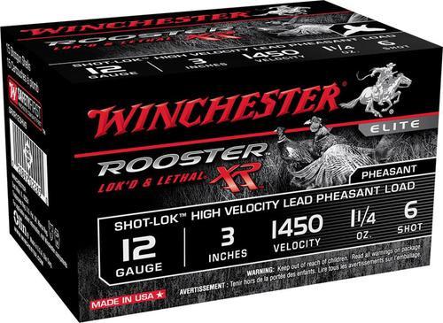 "Winchester Rooster XR 12 Ga, 3"", 6 Shot, 15rd/Box"
