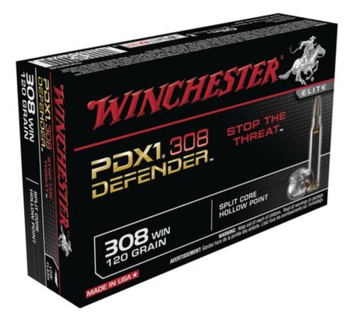 Winchester PDX1 Defender .308 Winchester 120gr, Personal Defense 20rd Box