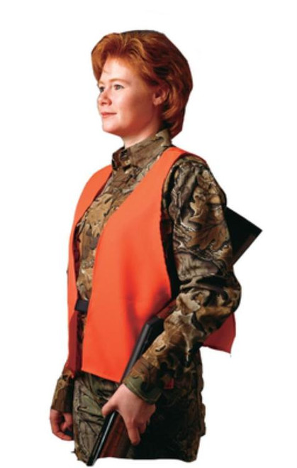 Hunters Specialties Super Quiet Safety Vest Orange One Size Fits All Neoprene