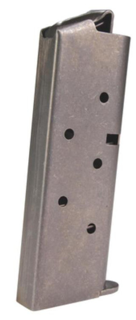 Colt Mustang 380 ACP Magazine 6 rd Stainless Steel