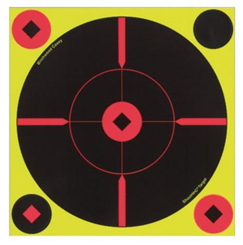 Birchwood Casey Shoot-N-C Self-Adhesive Targets Round X-Target 50 Pack