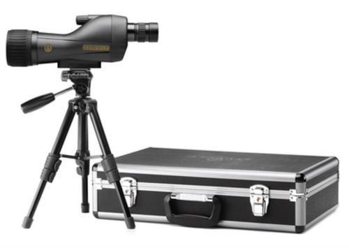 Leupold SX-1 Ventana Hd Spotting Scope 15-45X60mm Straight Eyepiece Black With Kit