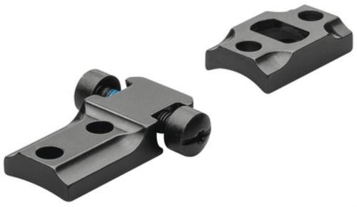 Leupold Reversible Front 2-Piece Base For Weatherby Mark V, Matte Black