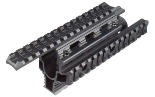 Leapers, Inc. - UTG Tactical Quad Rail, Fits AK, Black
