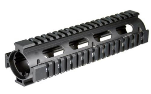 Leapers, Inc. - UTG Tactical Quad Rail, Fits Smith & Wesson M&P 10, Black
