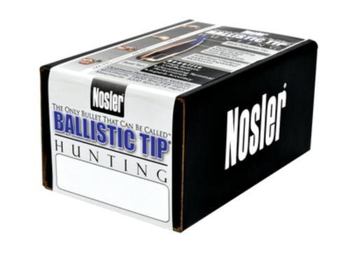 Nosler Ballistic Tip Hunting .25 Caliber .257 100gr, 50/Box