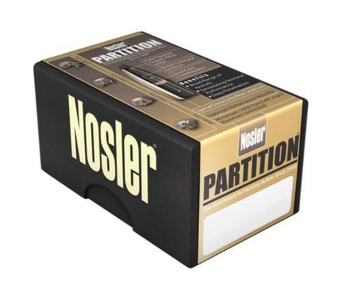 Nosler Partition RN .30 Caliber .308 170gr, Spitzer, 50/Box