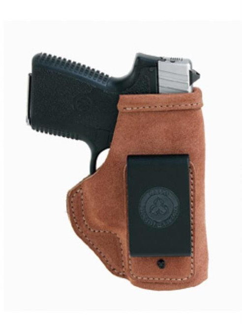 Galco Stow-N-Go Glock 17/22/31, Hi-Point C9 Compact 9, Ruger Security-9, Natural, RH