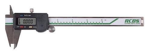 "RCBS Electric Digital Caliper 0-6""/0-150mm"