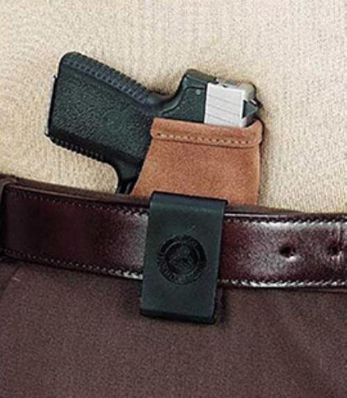 Galco Stow-N-Go for S&W J Frame Natural Leather RH