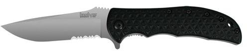 Kershaw Volt Folder 8C13MOV Stainless Drop Point Blade, Black Polyimide
