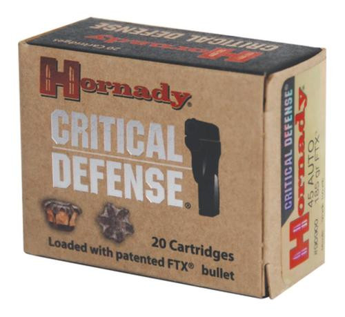 Hornady Critical Defense 45 ACP 185gr, 20rd Box