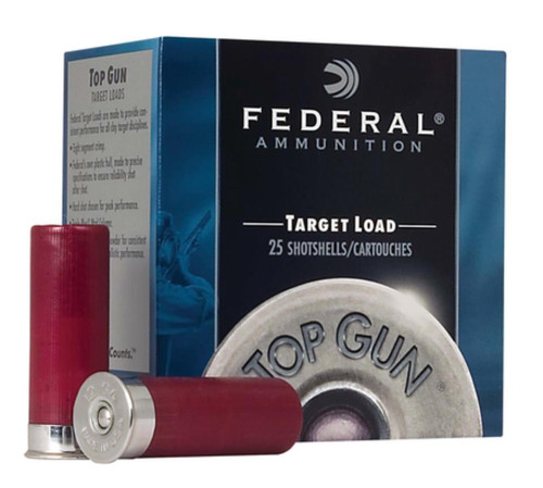 "Federal Top Gun 12 Ga 2.75"", 1250 FPS, 1oz, 7.5 Shot, 250rd/Case"