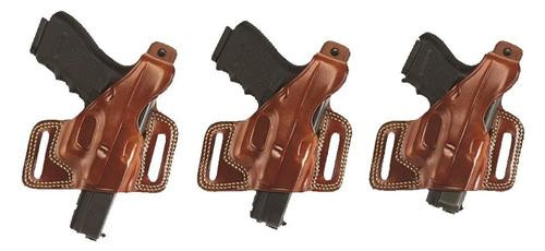Galco Silhouette Revolver 126 Fits Belts up to 1.75 Tan Leather