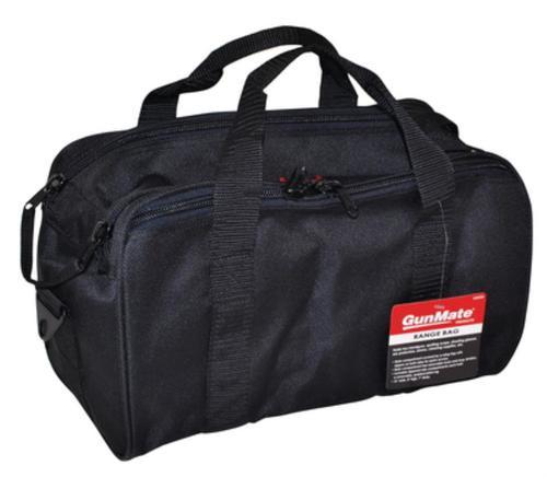 Uncle Mikes Range Bag Nylon Textured, Web Handles & Shoulder Strap Black