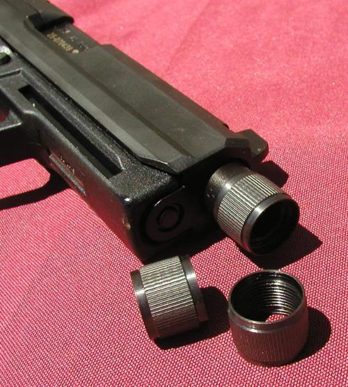 HK USP40, USP40C Tactical Thread Cap