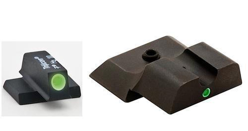 AmeriGlo i-Dot Night Sights S&W M&P Shield Tritium F/R Green