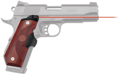 Crimson Trace Master Series 1911, Most Bobtail 1911 Models G10 Gray, Red