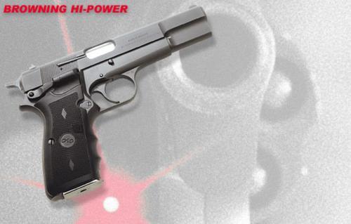 Crimson Trace Lasergrips Browning Hi Power 9/40