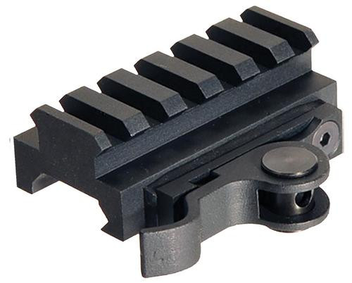 Aimshot Quick Release Riser Base For AR AR-15 Style Black