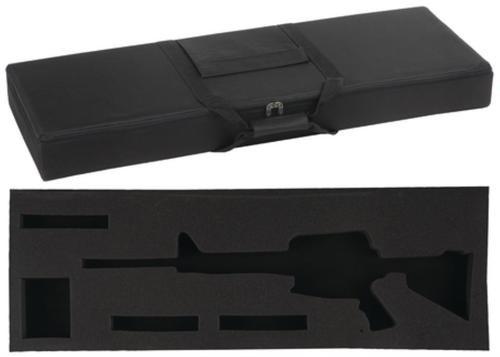 Bulldog Hard-Sided Nylon 34 Tactical Case for AR-15 Black