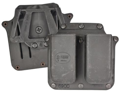 Fobus Roto Double Mag Pouch Glock/HK 9mm/.40SW, Black