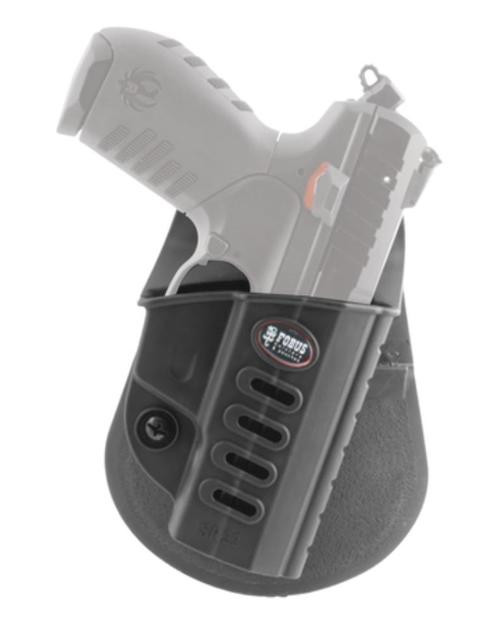 Fobus Evolution Ruger SR22 Holster, Right-Hand, Polymer, Black