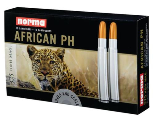 Norma African PH .375 H&H MAG 350Gr, Soft Nose Woodleigh - 10Rd/Box