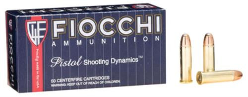 Fiocchi Shooting Dynamics .38 S&W Special 158gr, Full Metal Jacket 50rd Box