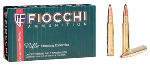 Fiocchi Shooting Dynamics .30-06 Springfield 165gr, Pointed Soft Point 20rd Box