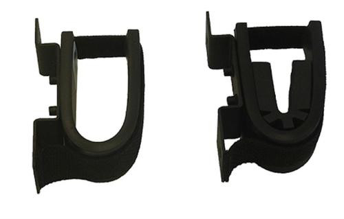 Rugged Gear Single Gun Rack Screw-Attach Hardware Included Black