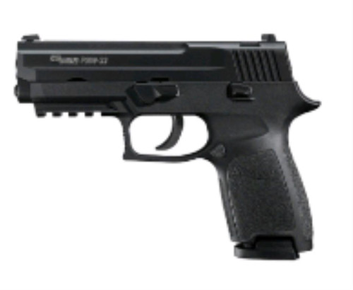 SIG 250 22LR DAO, Black, 10rd