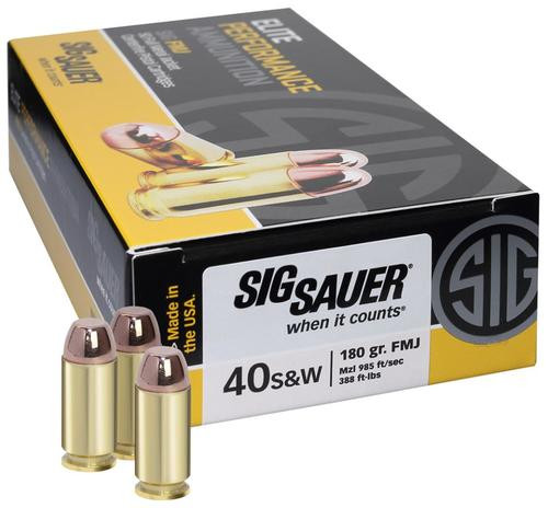 Sig Ammo 38Spl 125Gr Elite Ball FMJ 50rd Box