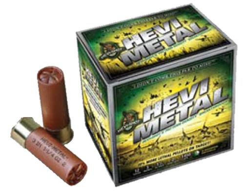 "HEVI-Shot Hevi-Metal Waterfowl 12 Ga, 3.5"", 1-1/2oz, 3 Shot, 25rd/Box"
