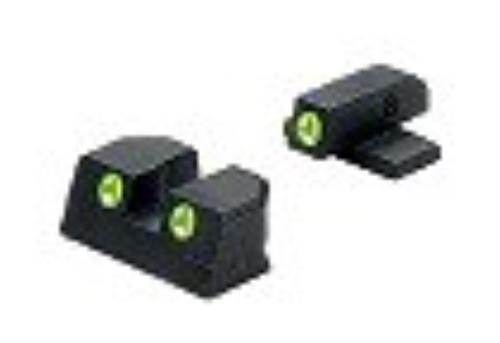 """Meprolight Tru-Dot NS Fixed Springfield XD 9/40 4""""/5"""" Tritium Green F/R"""