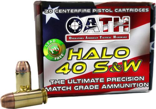 Oath Halo .40 S&W, 165 Gr, 20rd/Box