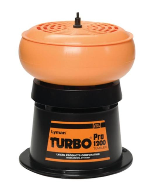 Lyman 1200 Pro Turbo Tumbler 1 Holds 2 lbs of Media