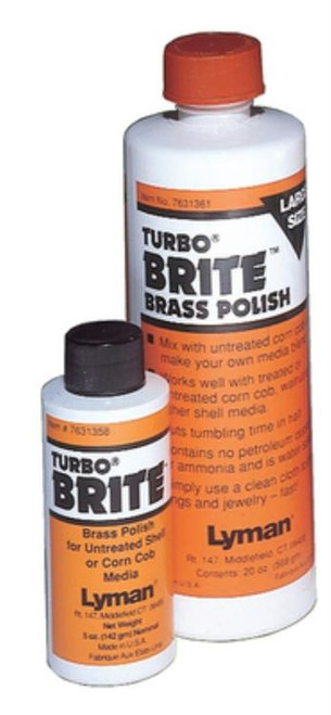 Lyman Turbo Brass Polish Universal, 20oz