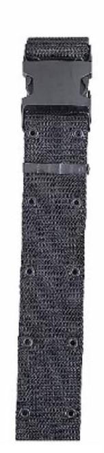 "Bianchi M1020 Web Pistol Belt One Size-30""-48"" Black Nylon"