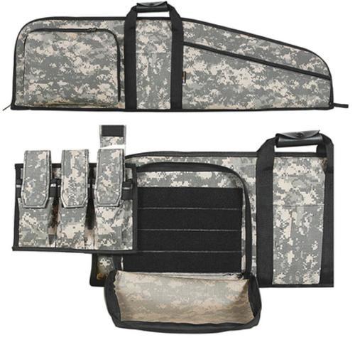 """Allen Assault Rifle Case AR-15 42"""", Removeable Pouch, Sling"""