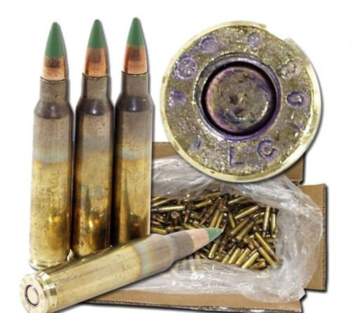 Federal American Eagle .223 Remington/5.56mm 62gr, Ball Penetrator, 2000rd/Case Loose