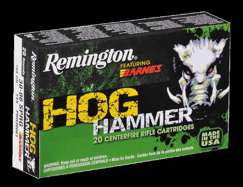"Remington Hog Hammer 12 Gauge, 2.75"", 000 Buckshot, 5 Rd Box"